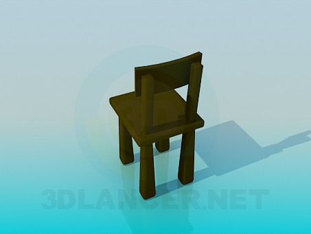 3d model Cozy chair - preview