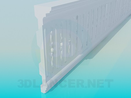 3d model Molding ceiling - preview