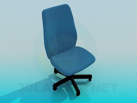 3d modeling Office chair on wheels model free download