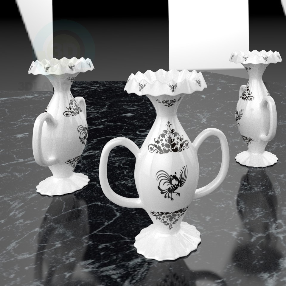 modèle 3D Vase - preview