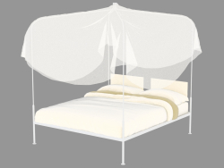 Double bed with canopy Crimea