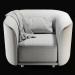 3d Fat-Tulip-Armchair model buy - render