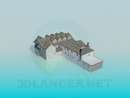 3d моделирование Дом модель скачать бесплатно