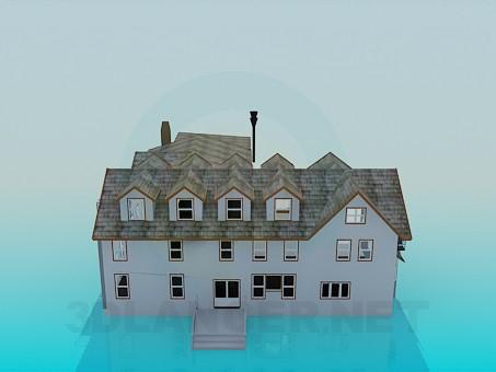 3d модель Будинок – превью