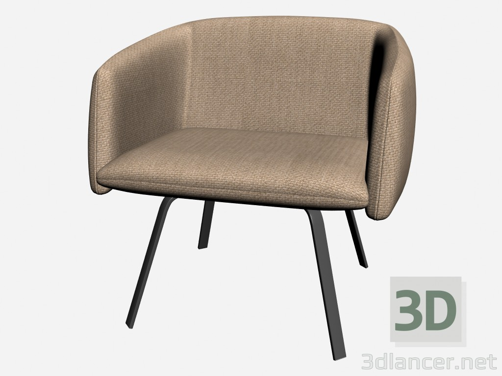 3d modell sindy sessel vom hersteller il loft armchairs id. Black Bedroom Furniture Sets. Home Design Ideas