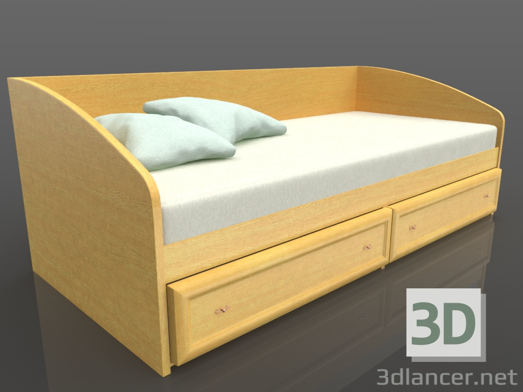 3d model children 39 s bed download to for Cama 3d max