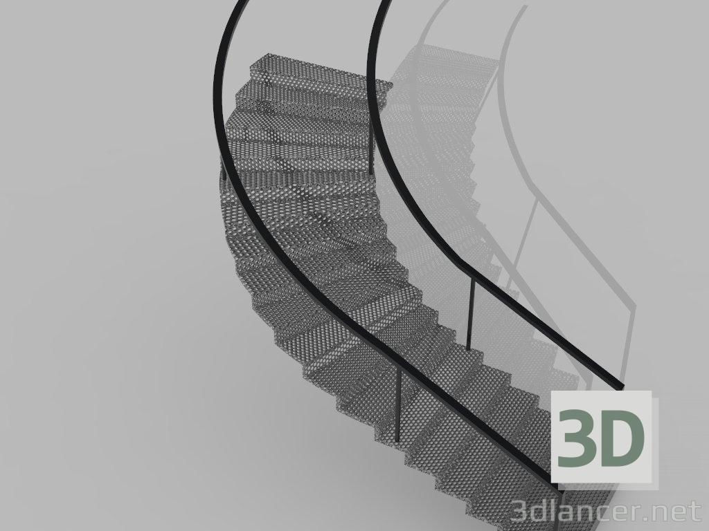 3d model Escalera de Caracol - vista previa