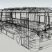 3d LAZ-695 bus model buy - render