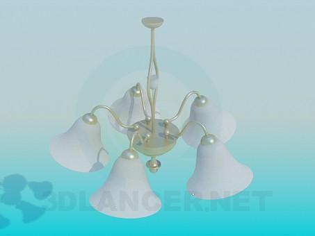 3d model Chandelier Bell - preview
