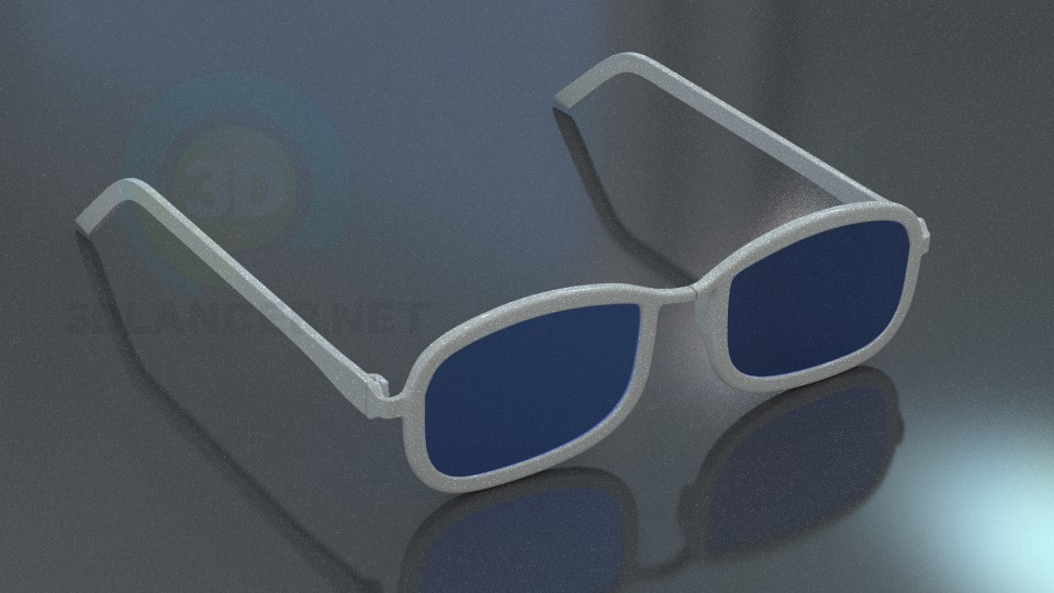 3d modeling Glasses model free download
