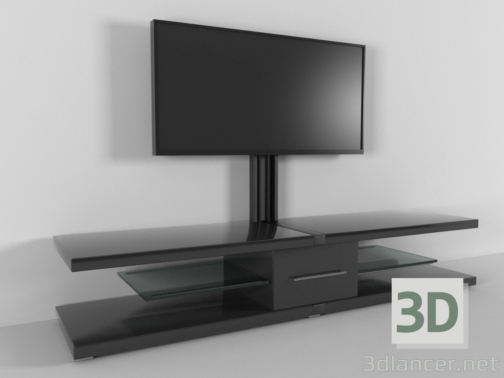 3d model TV stand, c4d, - Free Download | 3dlancer net