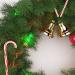 3d Christmas wreath model buy - render