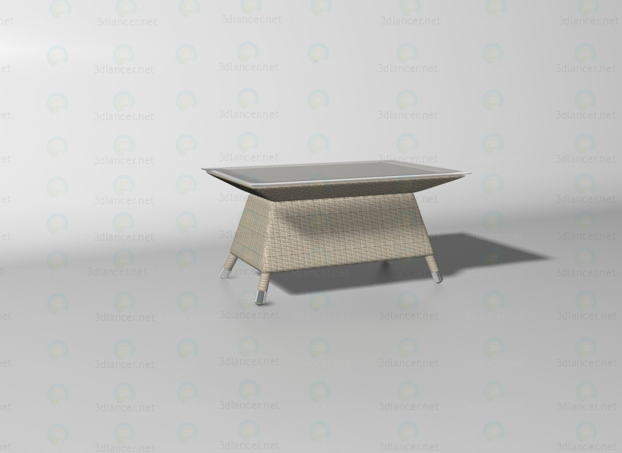 3d model Cancun table - preview