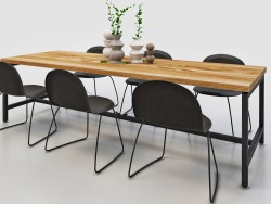Dining table for 6-8 seats