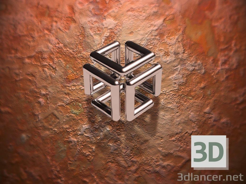 3d моделирование Бесконечный куб модель скачать бесплатно