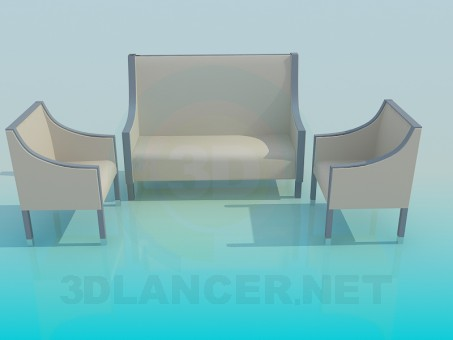 3d modeling Sofas and chairs model free download