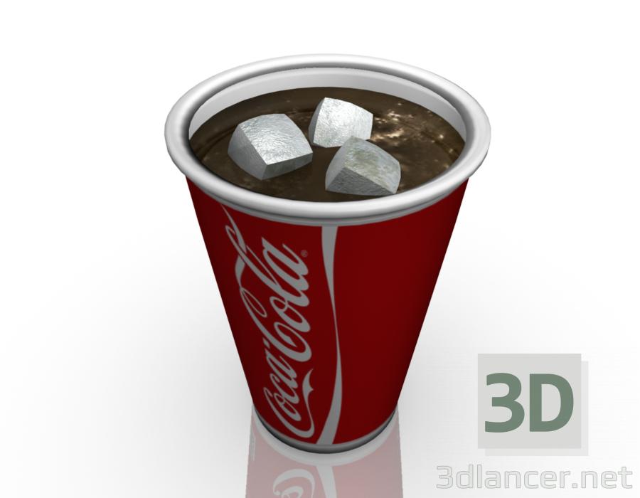 3 डी मॉडल कप-टिन - पूर्वावलोकन