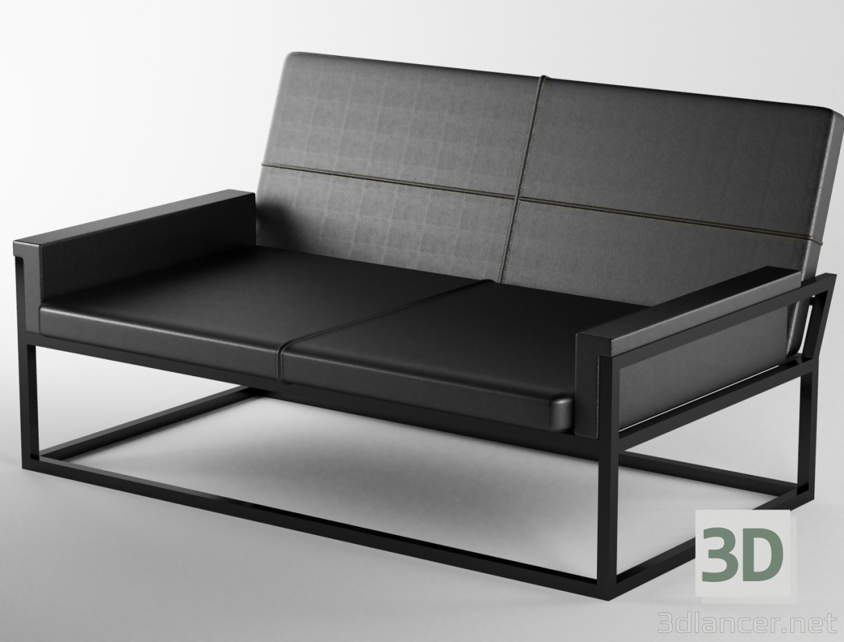3d model Free sofa, max(2016), Minimalism- Free Download | 3dlancer net