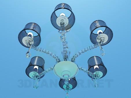 modelo 3D Araña de seis tonos - escuchar