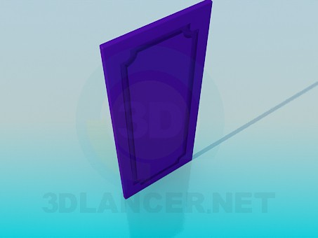 3d model Door from the cabinet - preview