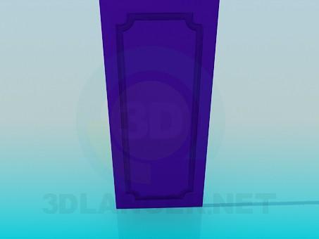 3d модель Дверка от тумбы – превью