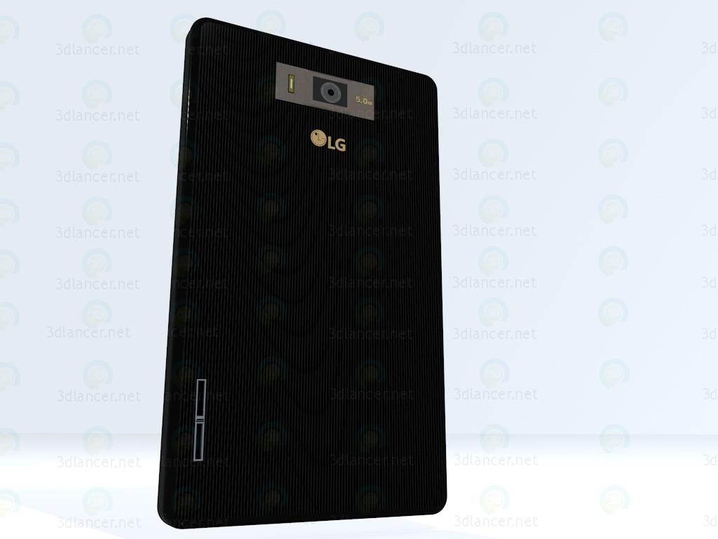 3d Phone LG L7 (P705) модель купить - ракурс