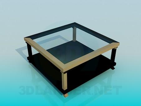3d model Mesa para periódicos y revistas - vista previa