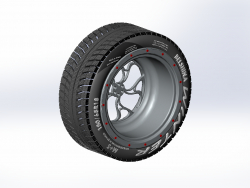 Winter tire disc