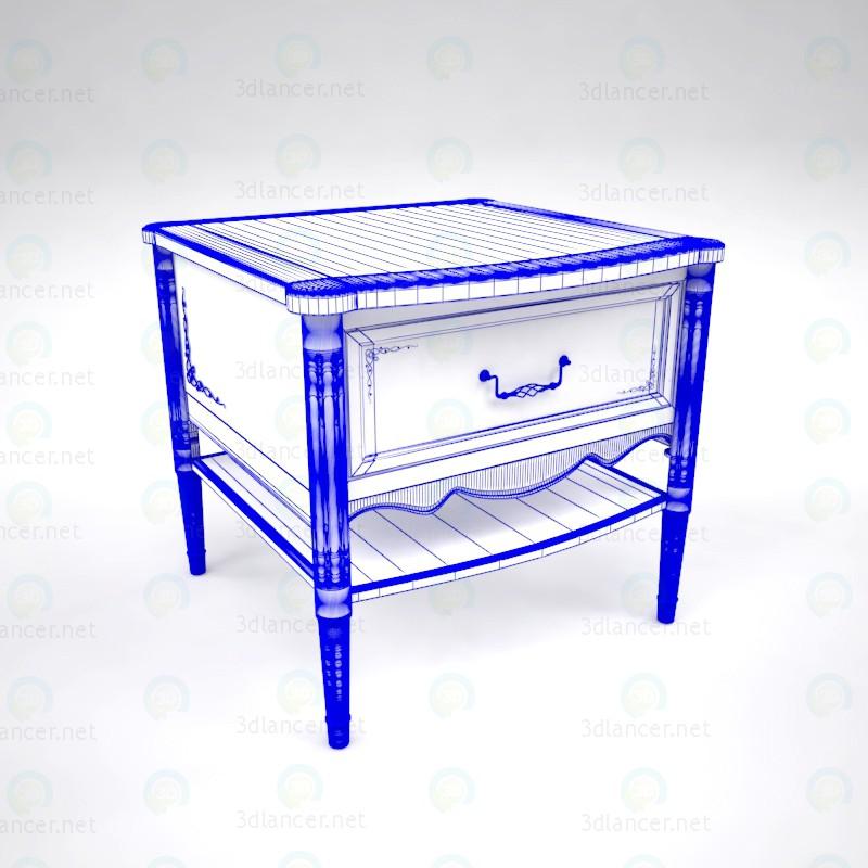 3d Приліжковий столик модель купити - зображення