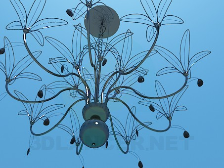 3d model Wire chandelier - preview