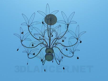 modelo 3D Araña de alambre - escuchar