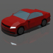 3d model Departivo car - preview