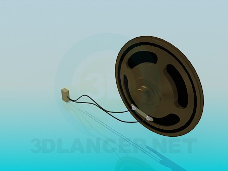 3d model Speaker - preview