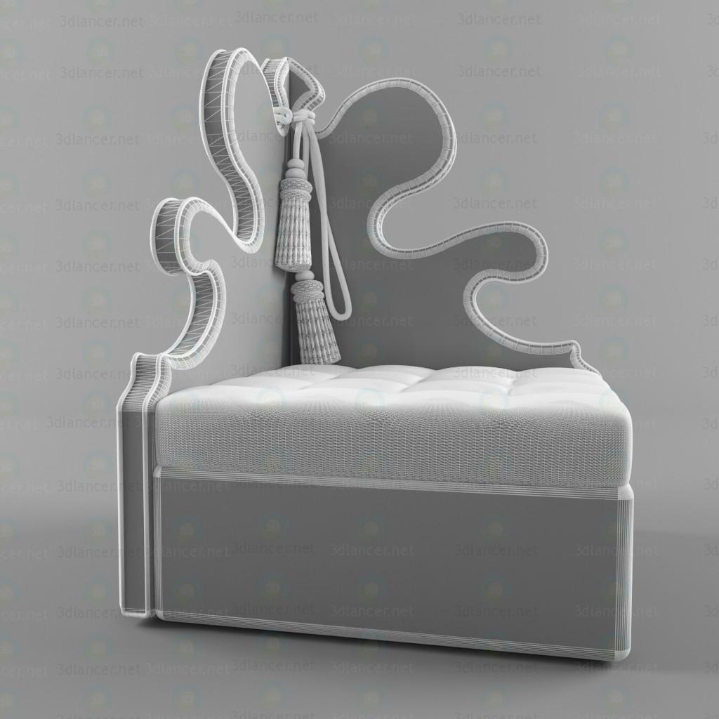 3d Крісло Belisaire модель купити - зображення