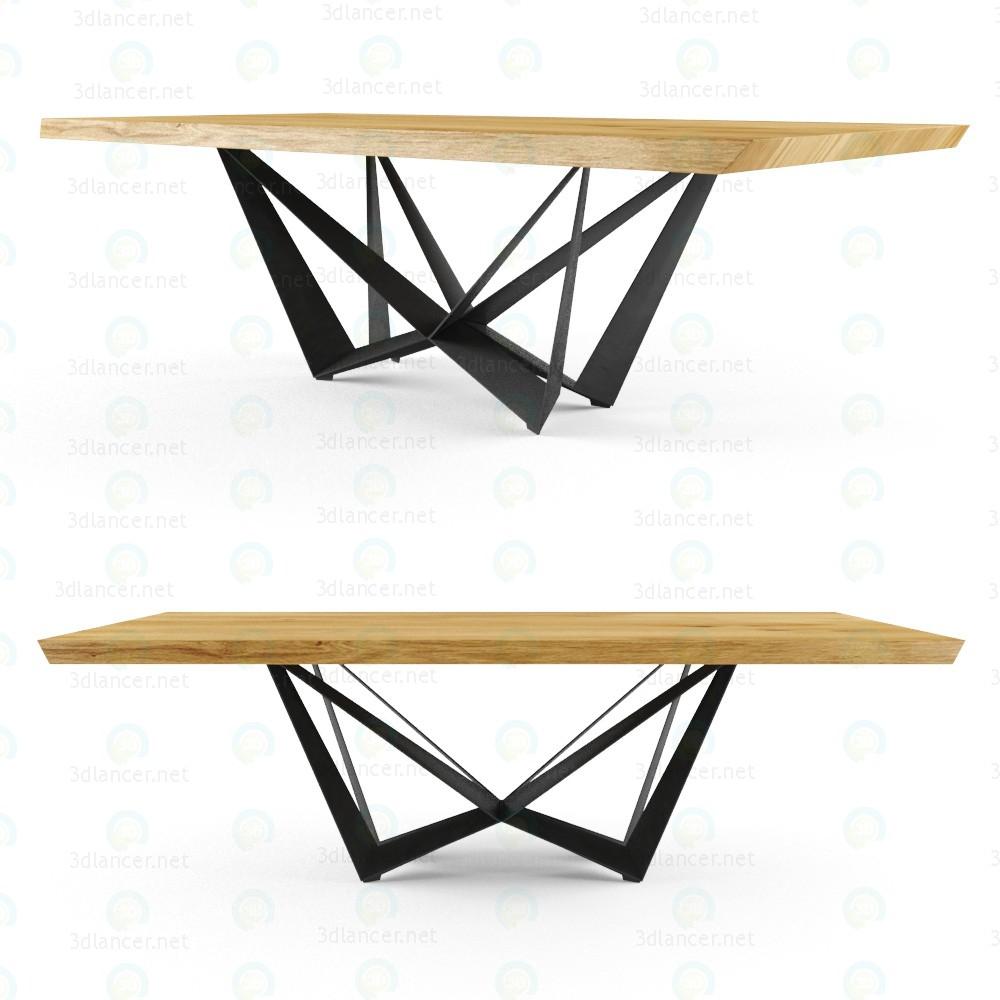 3d model Table cattelan italia - preview