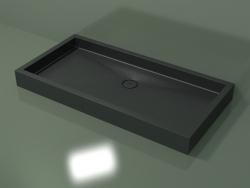 Shower tray Alto (30UA0123, Deep Nocturne C38, 160x80 cm)