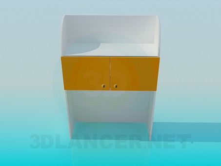 3d model Cupboard for clothes - preview