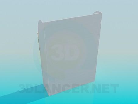 3d модель Тумба для речей – превью