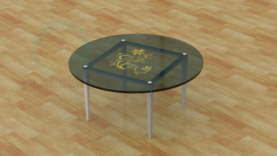 modèle 3D Table basse - preview