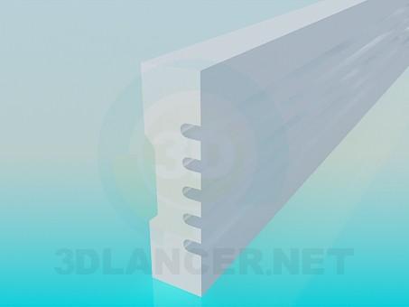 3d model Molding - preview