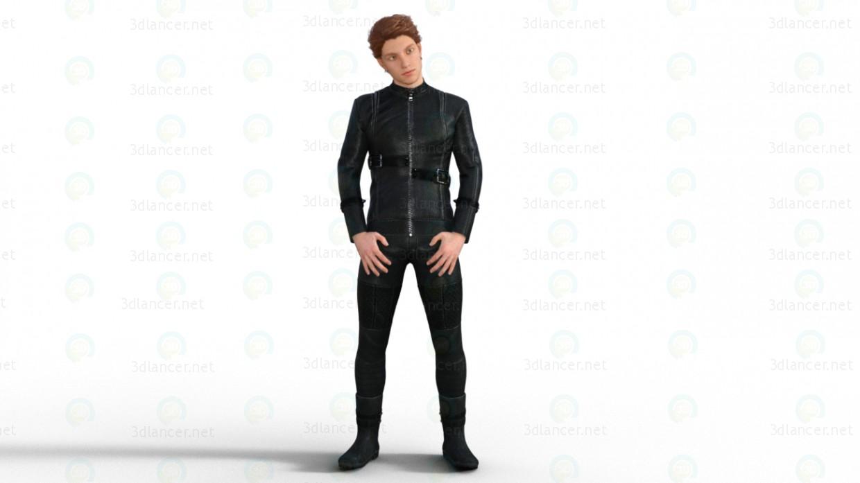 3d 3d Модель мужчины модель купить - ракурс