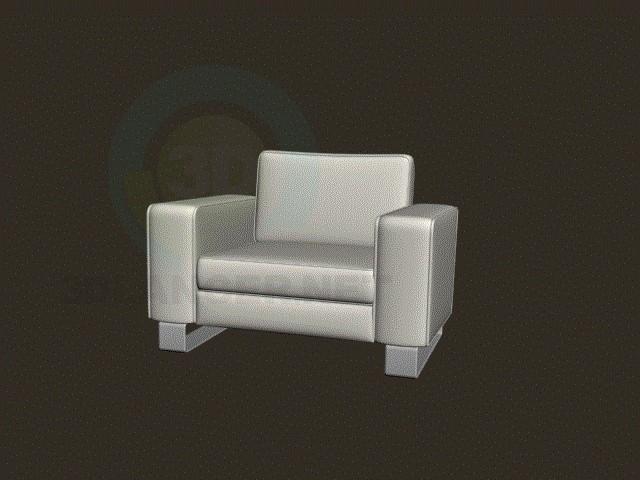 3d моделювання м'яке крісло модель завантажити безкоштовно