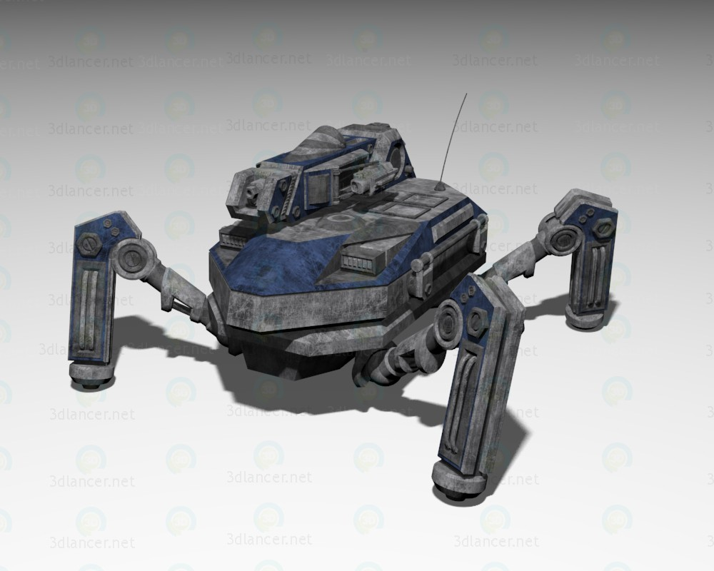 Engineering bot Praefectus M2 paid 3d model by RC preview