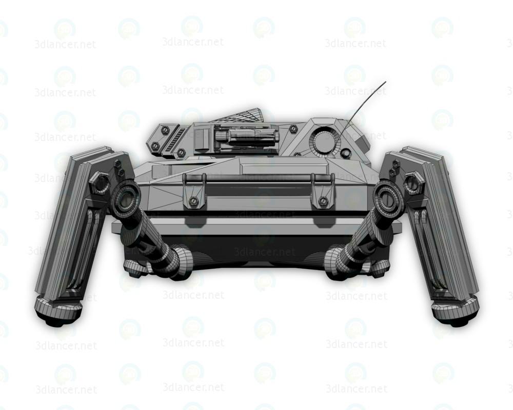 3d Инженерный бот Praefectus M2 модель купить - ракурс