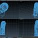 3 डी मोमबत्ती मॉडल खरीद - रेंडर