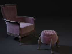 chair pouf