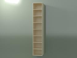 Wall tall cabinet (8DUBFD01, Bone C39, L 36, P 36, H 192 cm)