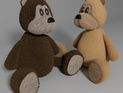 Teddy-Kinderspielzeug