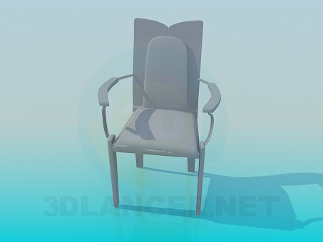 3d modeling Chair with original design model free download