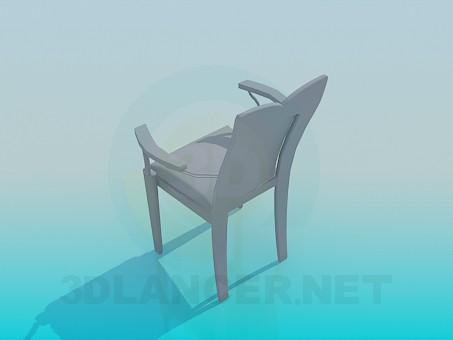 modelo 3D Silla de diseño original - escuchar